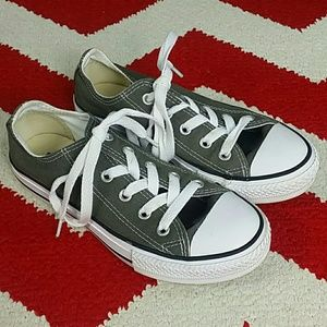 Converse All Star Core Ox Green Shoes Kids 13.5